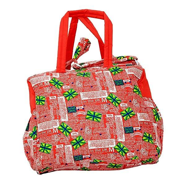 Kuber industrias bolsa de pañales, bolsa de cambiar pañales, bolsa de la Mamma (ABC impresión): Amazon.es: Hogar