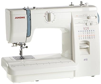 coser Janome 415