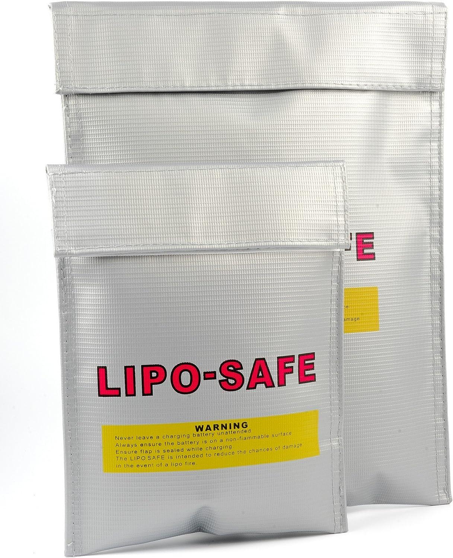 Lipo Safe Bag Feuerfest Zum Sicheren Laden Von Akkus Elektronik