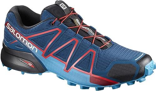 7a63caa9a6cd4 Salomon Hombre L39061600 Zapatillas de Trail Running Azul Size  8.5  Amazon. es  Zapatos y complementos