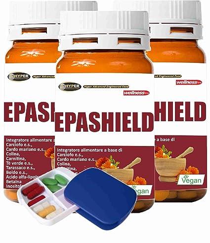 purificador hígado | + titular de píldoras | Suplemento depurativo, útil para purificar hígado |