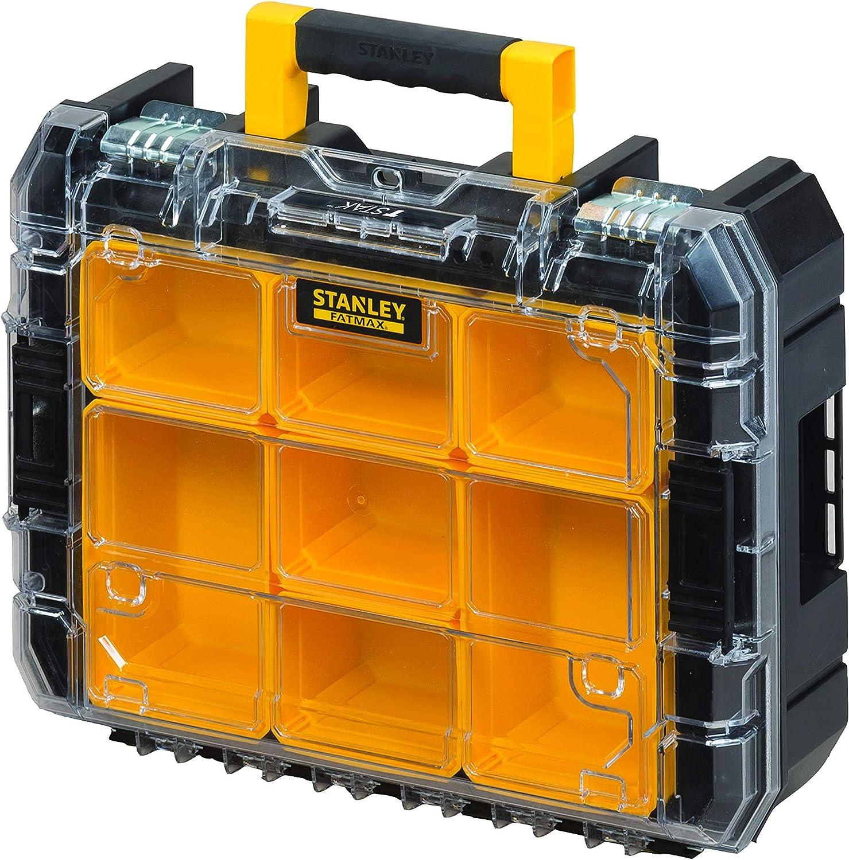 STANLEY FATMAX FMST1-80103 Conjunto PRO-STACK 3 piezas con cajas para herramientas, organizador y base con ruedas, Negro: Amazon.es: Bricolaje y herramientas