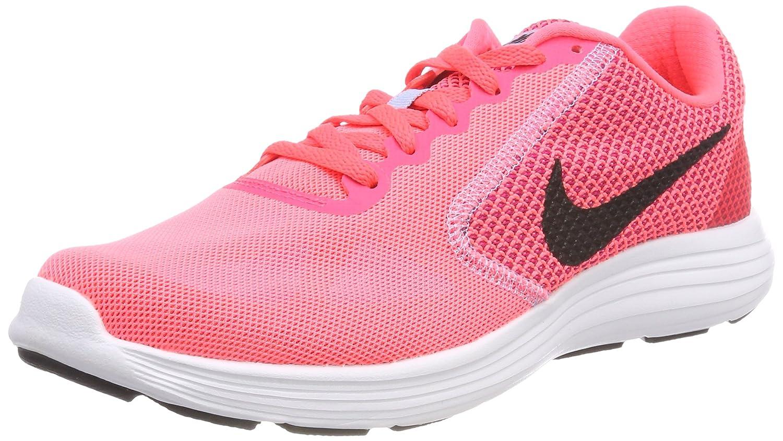 NIKE Women's Revolution 3 Running Shoe B01H605PC4 11 B(M) US|Hot Punch/Black/Aluminum White