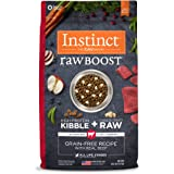 Instinct Raw Boost Grain Free Recipe with Real Beef Natural Dry Dog Food by Nature's Variety, 20 lb. Bag