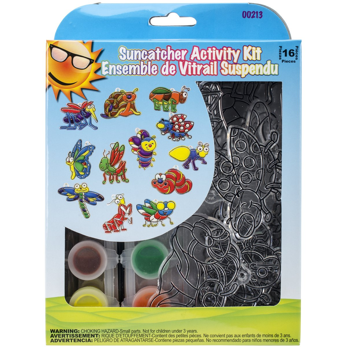 New Image Group Suncatcher Group Activity Kit-Insects 12//Pkg Multicoloured 6.19 x 18.51 x 25.08 cm Other