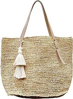 Rope Handle Bag Bali Tan /& Tones BEACH TOTE GIRLS LADIES COOL PRESENT GIFT Idea