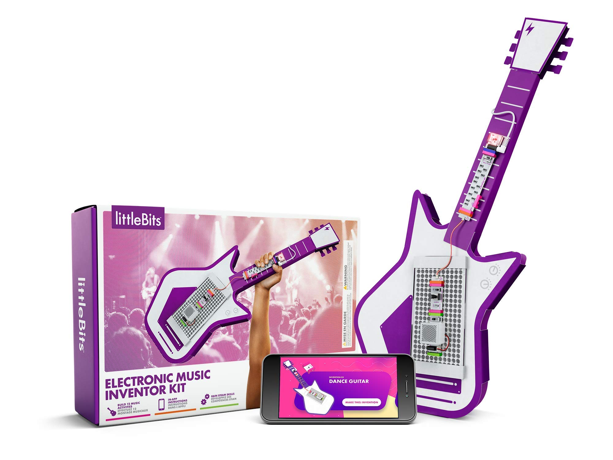 littleBits Electronic Music Inventor Kit - Build, Customize, & Play Your Own Educational & Fun High-Tech Instruments! by littleBits