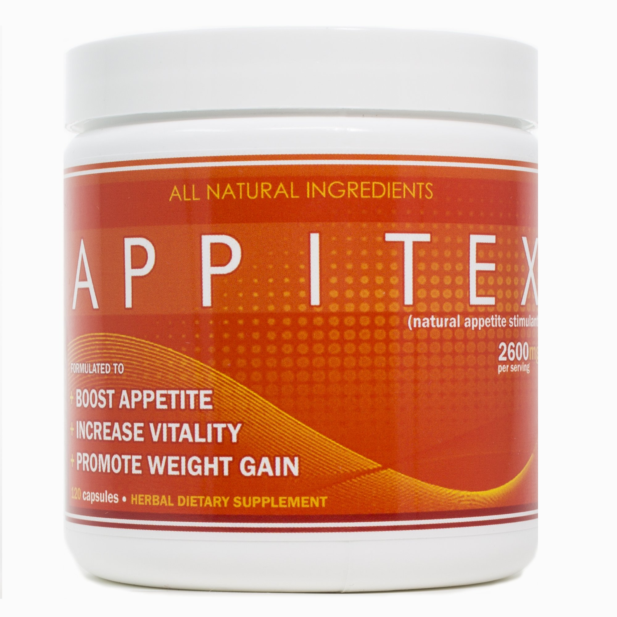 Appitex Weight Gain Pills for Men & Women Appetite Stimulant | Natural Orexigenic Supplement