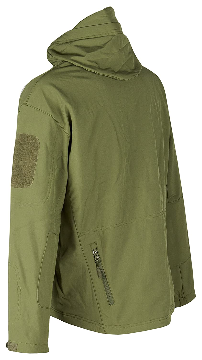 Army Style Chaqueta Tactica Militar para Hombre para Airsoft /& Paintball Green OD ACE Tactical Softshell Jacket Talla M