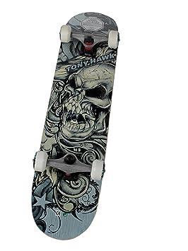 Tony Hawk Sktk11147978 Thhj 401 Sandbagged Skateboard Bleu Noir
