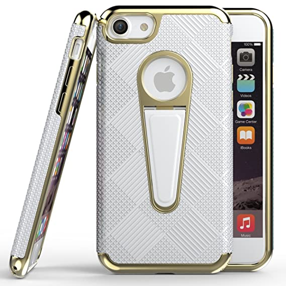 Elech iPhone 6S Plus Case, Friction & Drop Tested Lightweight Anti-slip Plaid Slim Anti-Scratch Anti-fingerprint Shockproof Protective Case with ...