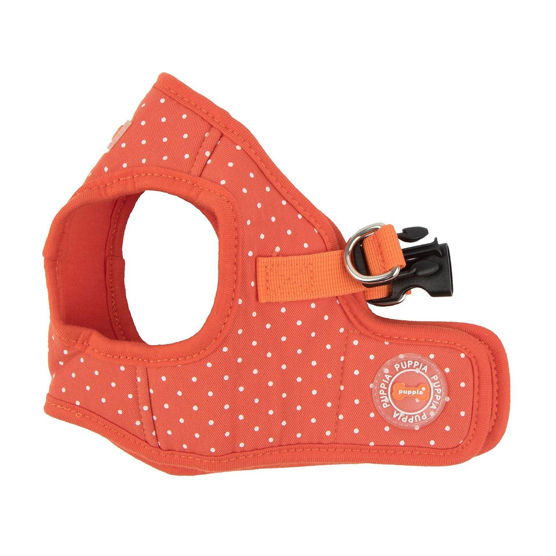 orange Large orange Large Puppia PARA-HB1529-OR-L orange Dotty Harness II B Pet-Vest-Harnesses, Large