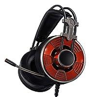 Deals on Vogek 7.1 Surround Sound Stereo Over-Ear Headphones