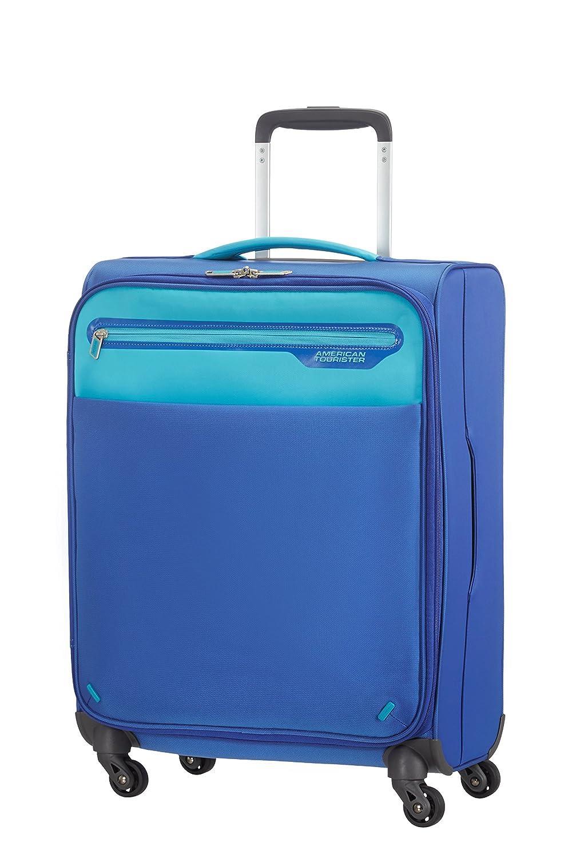 American Tourister Lightway spinner equipaje de cabina azul azul claro S cm