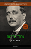 Wells, H. G.: The Collection [newly updated] [The Wonderful Visit; Kipps; The Time Machine; The Invisible Man; The War of the Worlds; The First Men in the Moon; and 25 more novels] (Book House)