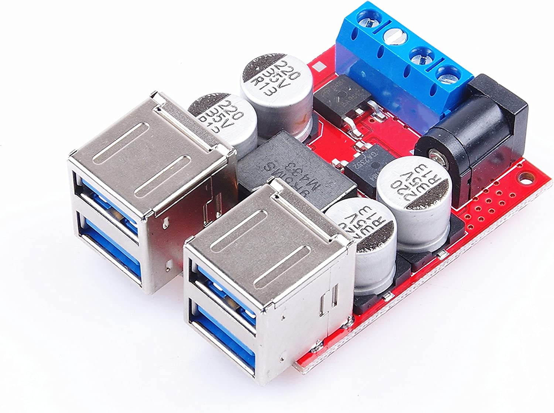 9V 12V 24V to 5V DC-DC Step Down Charger Power Modu Dual USB Output Board  bo sq