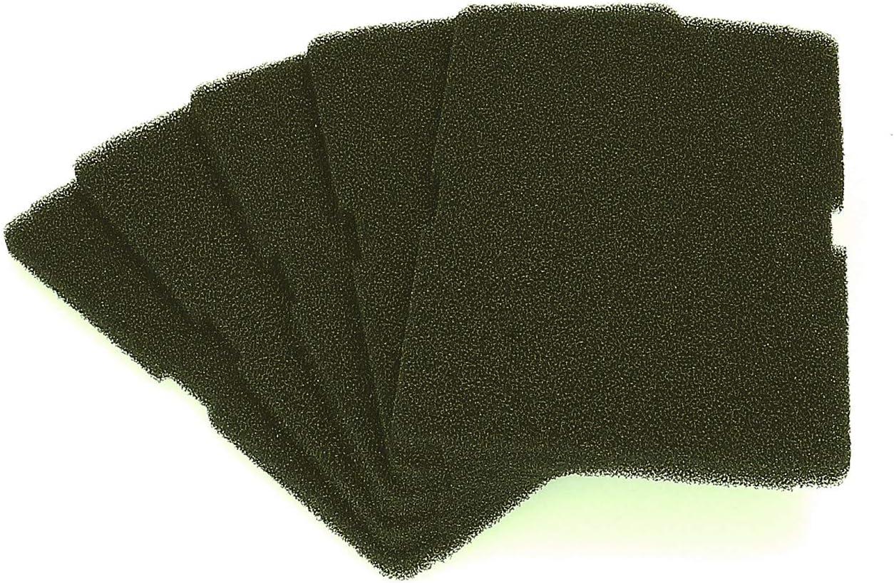 5x filtro para secadora Beko secadora 2964840100 filtro base 240x155mm para intercambiador de calor secadora con bomba de calor