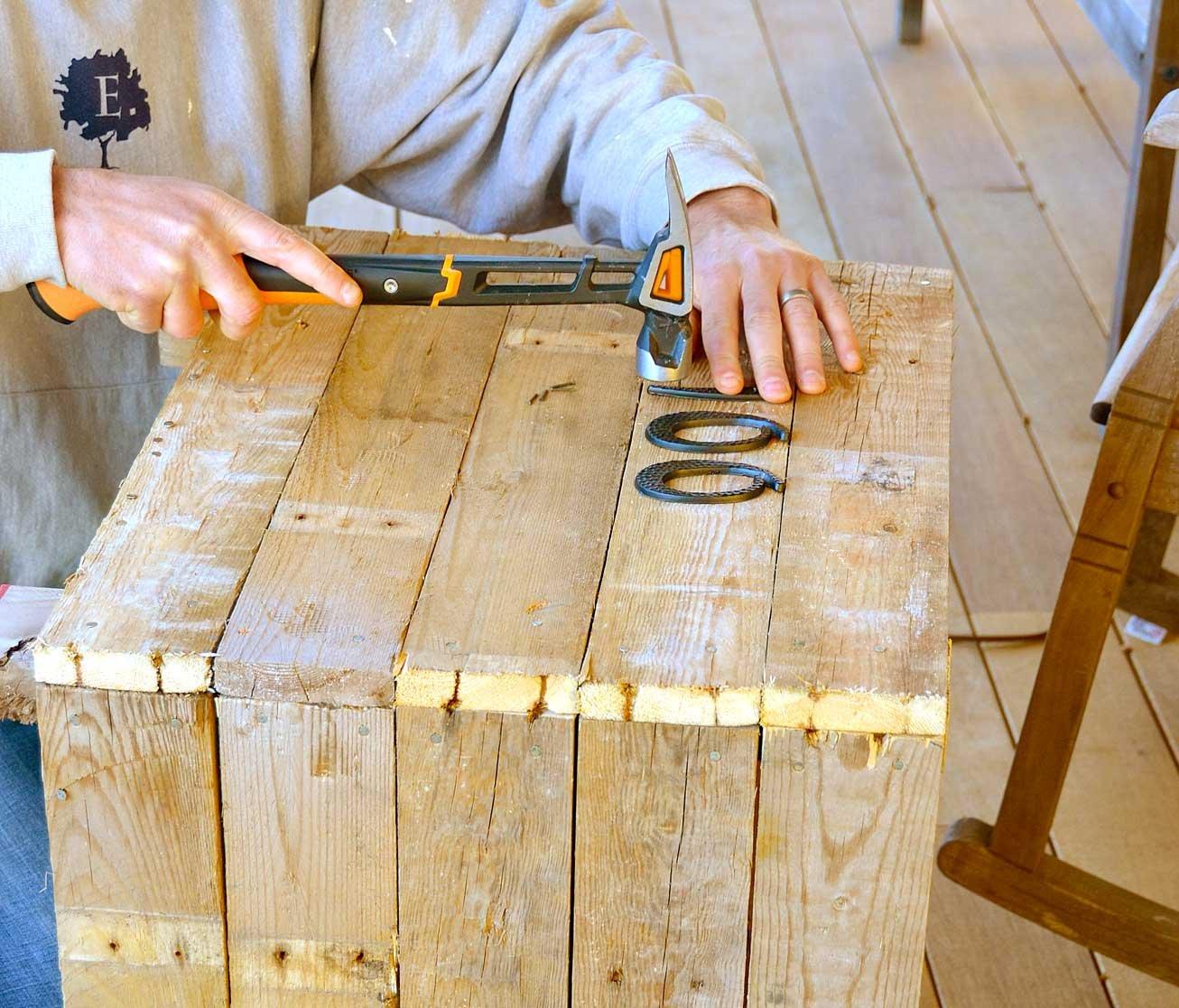 Fiskars IsoCore 22 oz Milled-face Framing Hammer, 16 Inch