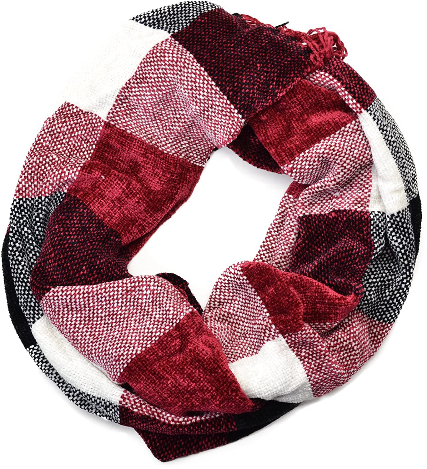 Charter Club Womens Color Block Chenille Cherry Oblong