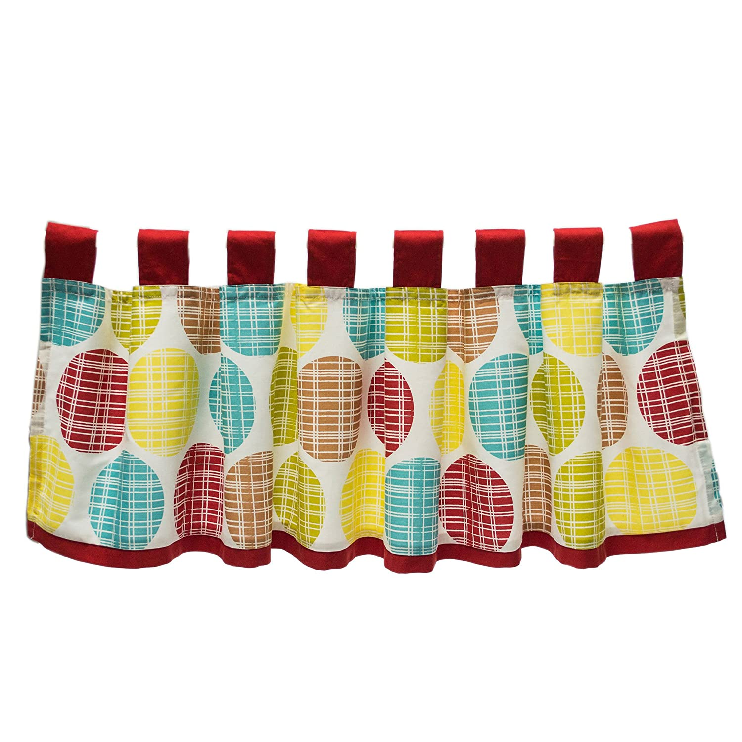 Hopscotch Window Valance by True Baby Farallon Brands WVTBHS-01