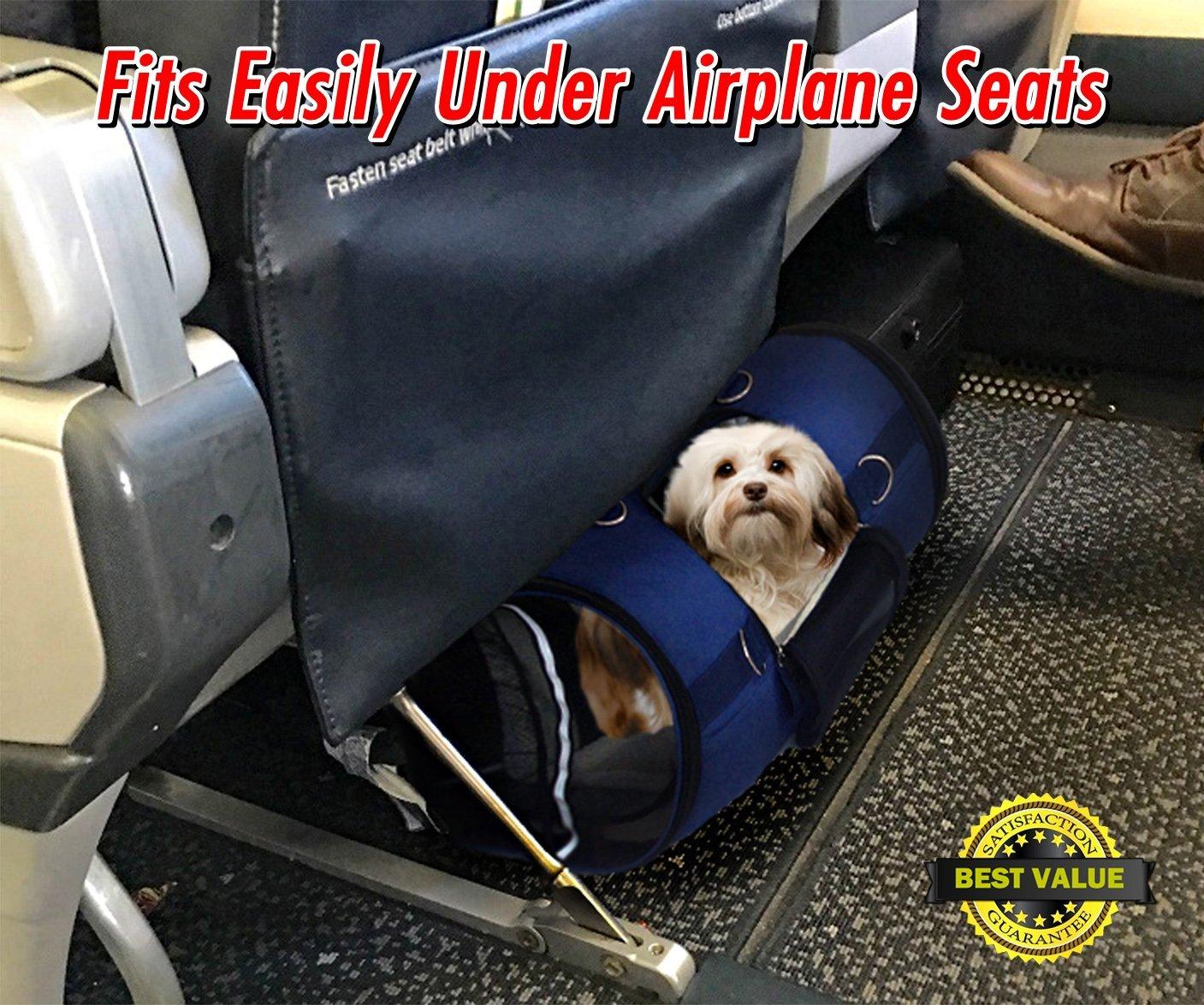 ... Aprobada Por Aerolíneas, Transportador de viaje para gatos, perro, conejos, Portador de Lados Suave: Amazon.es: Productos para mascotas