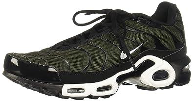 sports shoes f0353 91e5f Nike Air Max Plus, Chaussures de Gymnastique Homme, Noir Black Sequoia 031,  40