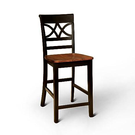 Amazon.com: Muebles de América cherrine País Estilo Pub ...