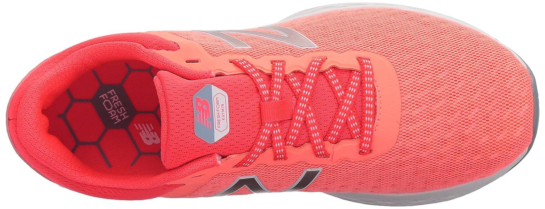 New Balance Women's Fresh Foam B06XSC2166 Kaymin v1 Running Shoe B06XSC2166 Foam 7 D US|Fiji/Vivid Coral 833922