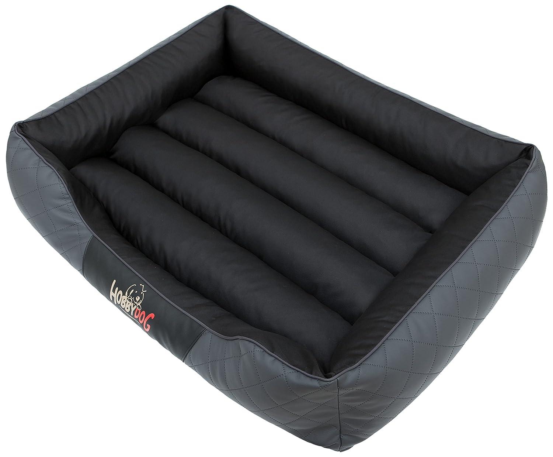 HOBBYDOG Cesarean Standard Dog Bed, Size 3, Graphite