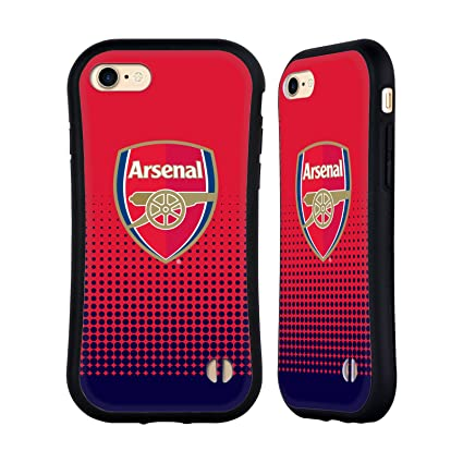 1a69d726f3d Amazon.com: Official Arsenal FC Fade 2016/17 Crest Hybrid Case for ...