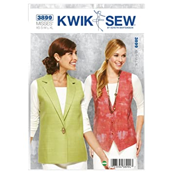 Amazon Kwik Sew K3899 Vests Sewing Pattern Size Xs S M L Xl