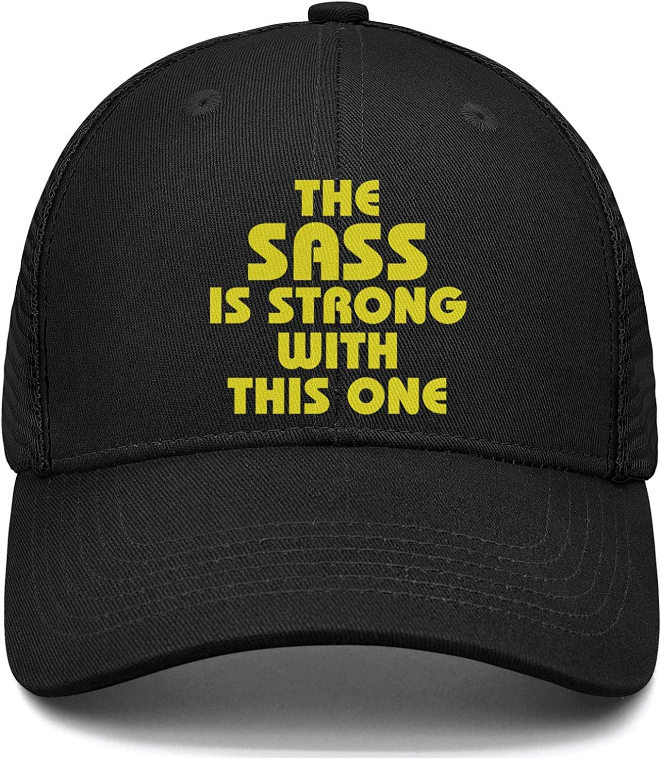 Thug Life Drop The T and Get Over Here Womens Mens Mesh Vintage Cap Adjustable Snapback Sports Hat