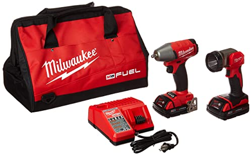 Milwaukee Electric Tools 2895-22CT M18 Fuel 3 8 Impact Wrench w LED Light Kit