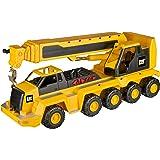 Toy State Caterpillar Construction Massive Machine: 10-Wheel Crane