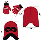 Disney Boys' Little Incredibles 2 Hat and Gloves
