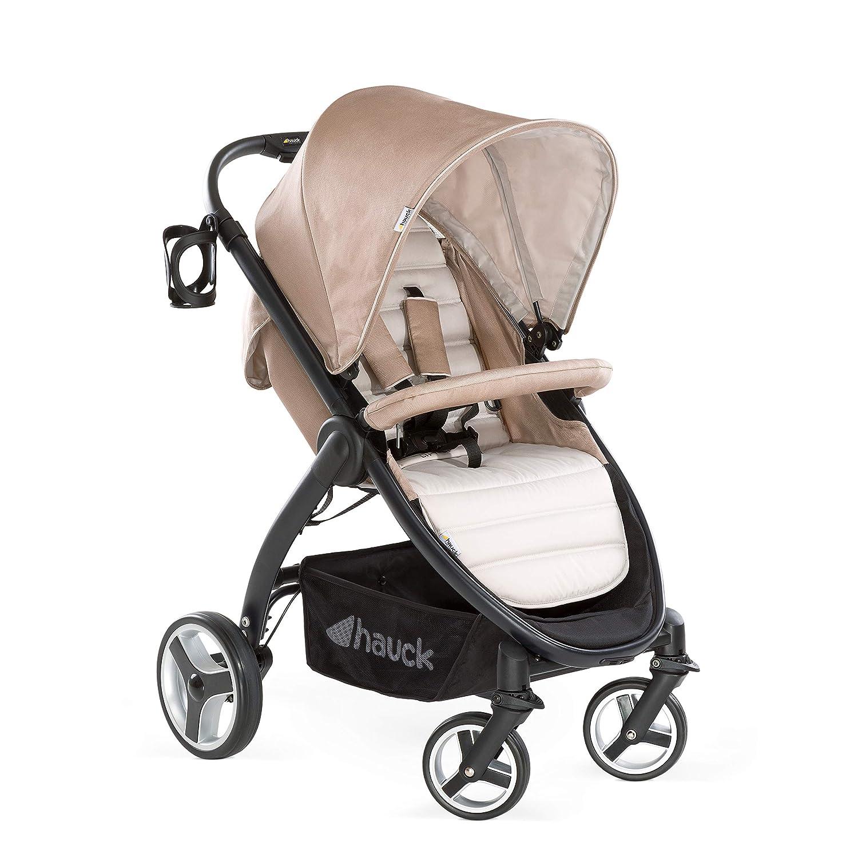 Hauck Buggy Lift Up 4/ mit Liegefunktion, klein zusammenklappbar / für Kinder ab Geburt bis 25 kg, charcoal (silber) Hauck GmbH + Co. KG (VSS) 148235