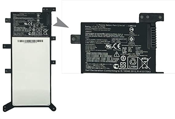 ZJS C21N1347 Batería para ASUS X555 X555L X555LA X555LB X555LD ...