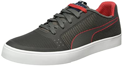 f72458a3e116 Men s IRBR Wings Vulc Smoked Pearl and Chinese Red Sneakers - 10 UK India (