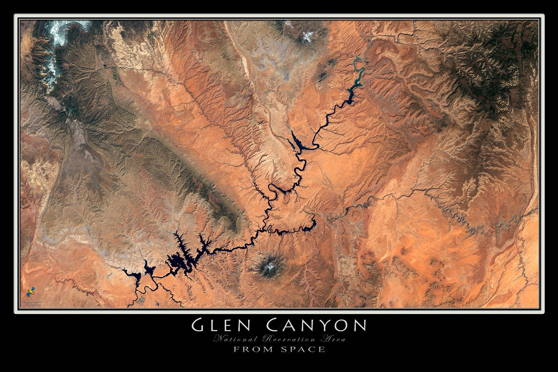Amazon.com: Glen Canyon - Lake Powell National Rec Area ... on political map of utah, road map of utah, relief map of utah, physical map of utah, driving map of utah, elevation map of utah, topo map of utah, detailed map of utah, satellite view of utah, outline map of utah, city map of utah, topographic map of utah, terrain map of utah, street map of utah,