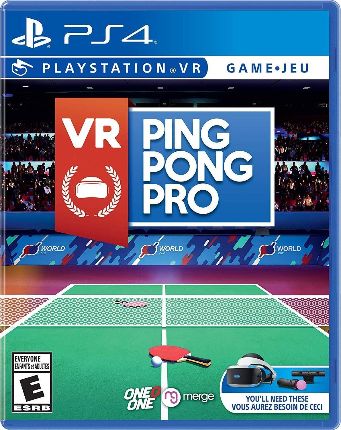 Amazon.com: VR Ping Pong Pro - PlayStation 4: Video Games