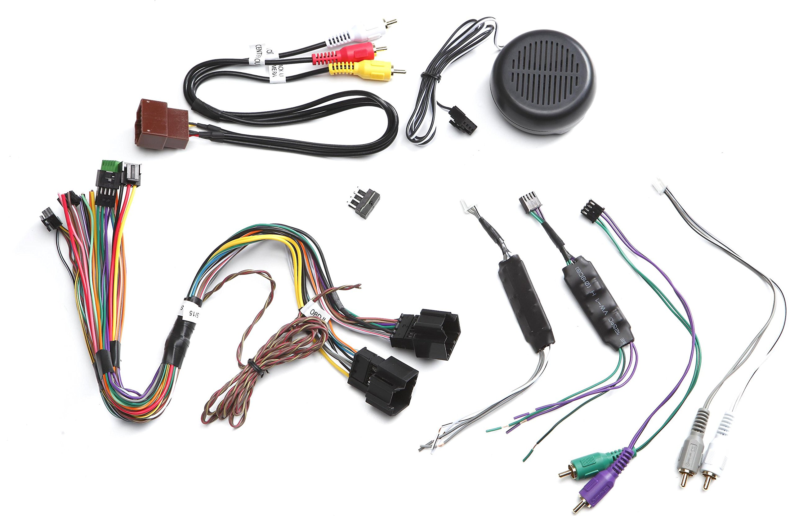 ADS-HRN-RR-GM5 GM5+ Plug & Play T-Harness for GM Vehicle, w/spkr by iDatalink Maestro