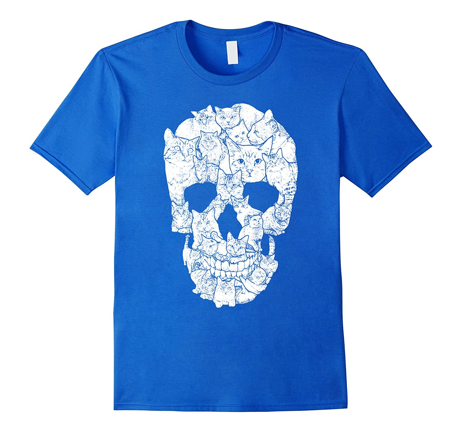 A Skull of Cats - Cat Lady T-shirt-CL