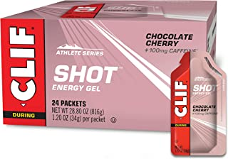 product image for CLIF SHOT - Energy Gels - Chocolate Cherry - 100mg Caffeine (1.2 Ounce Packet, 24 Count)
