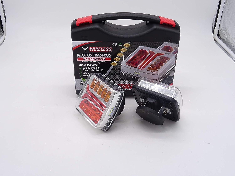 4 fonctions et magn/étiques Wireless Kit de 2/feux arri/ère LED sans fil