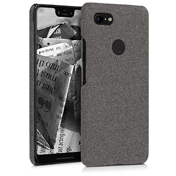 new concept 50531 b1318 Amazon.com: kwmobile Hardcase Cover for Google Pixel 3 XL ...