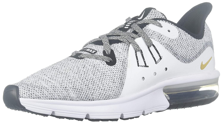 Nike Schuhe – Air Max Sequent 3 (GS) SchwarzWeißGolden