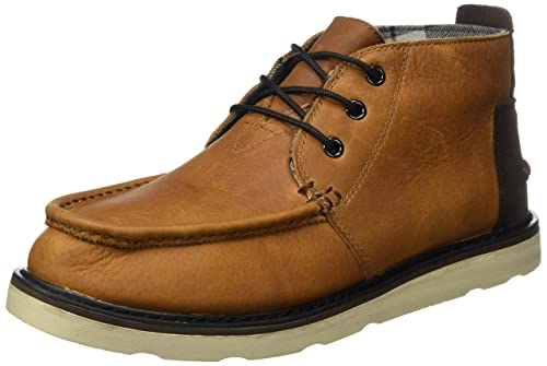 bf3de2b2e3c TOMS Men's Chukka Boots Pull Up/Waterproof Brown