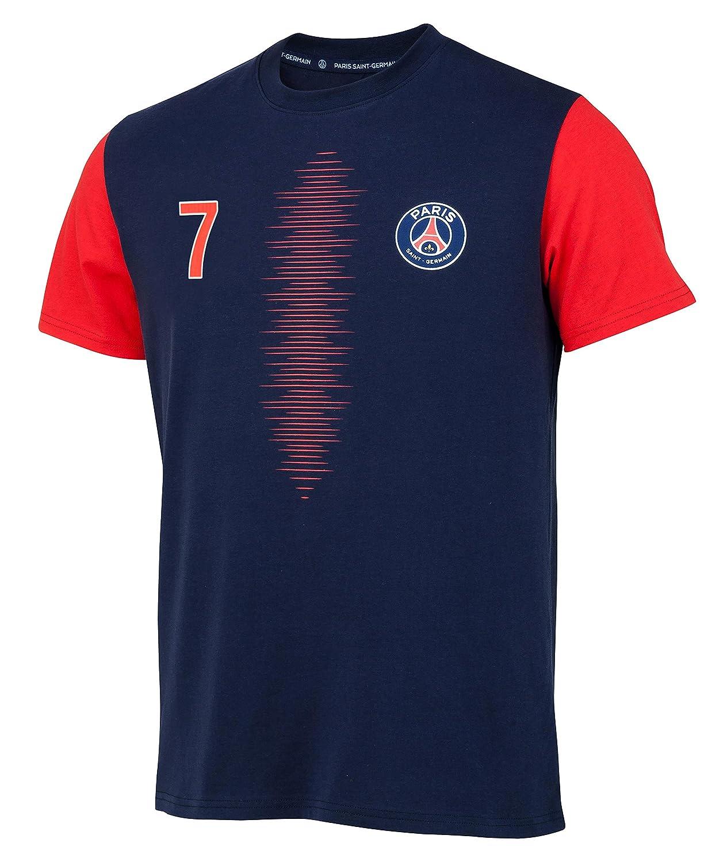 PARIS SAINT GERMAIN T-Shirt PSG Collection Officielle Taille Enfant Kylian MBAPPE N/°7