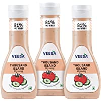 Veeba Thousand Island Dressing, 300g (Pack of 3)