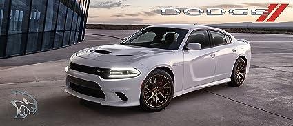 Amazon com: 2016 Dodge Charger Hellcat Poster Red Black Srt